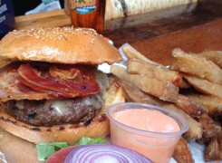 Greco's One & Only Truffle Burger at Bronx Beer Hall  ©Esquire