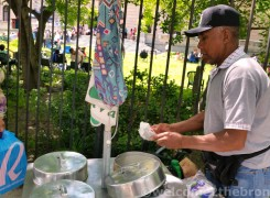 Coquito pushcarts around the Bronx are as big of an indicator that warm weather approaches as Mr Softee.