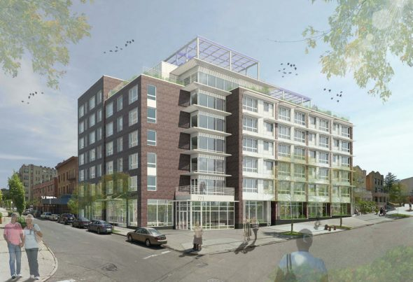 Rendering of Crotona Senior Residences to be built within 3 years and geared towards the LGBT community.