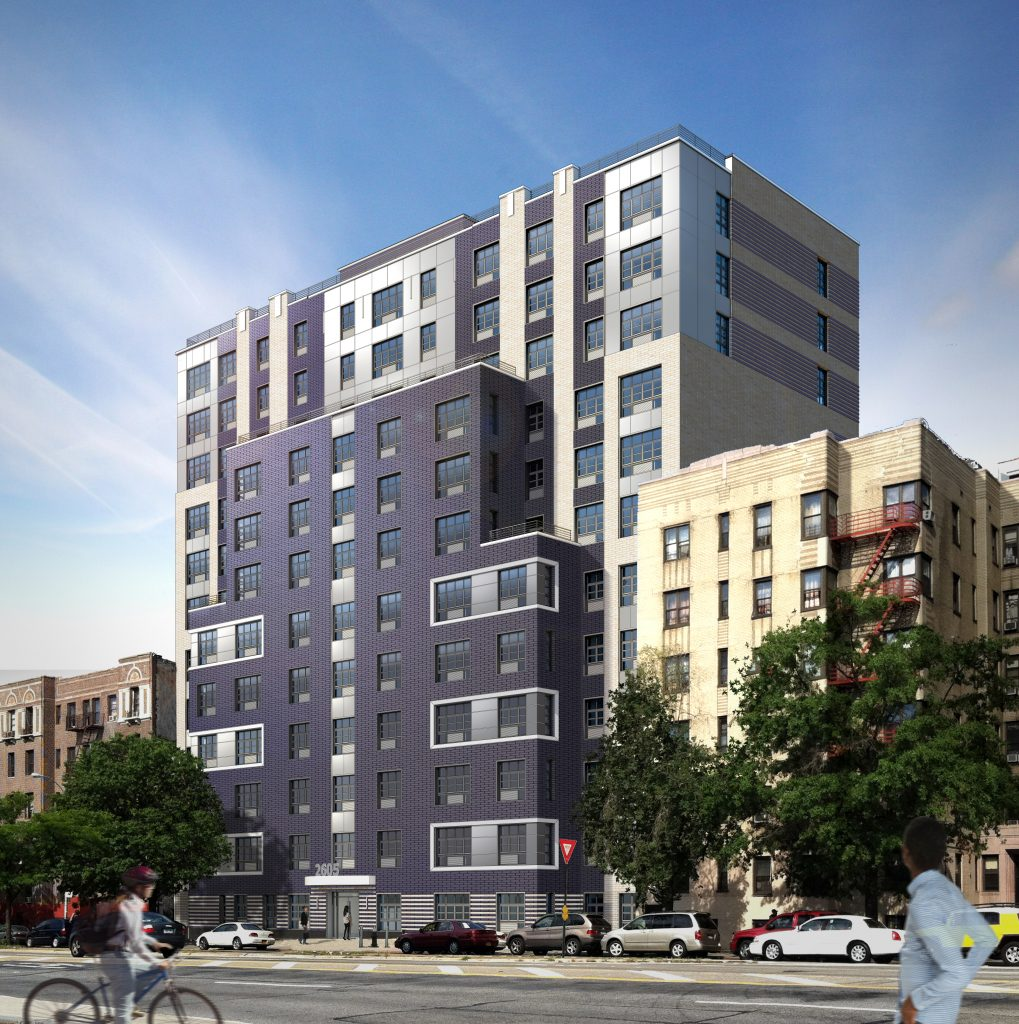 """New """"Affordable"""" Housing Development In Fordham Now"""