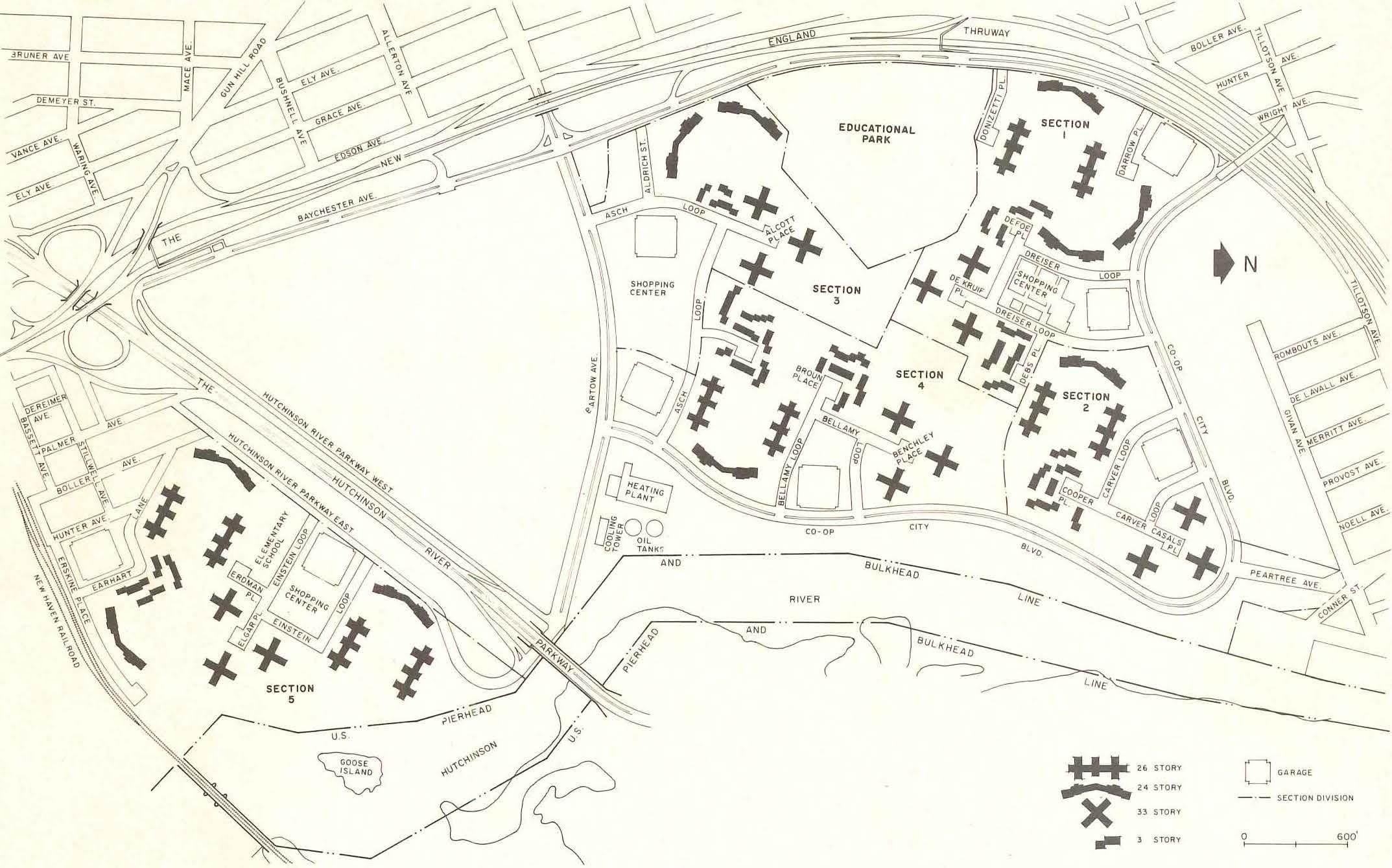 Co Op City Site Plan